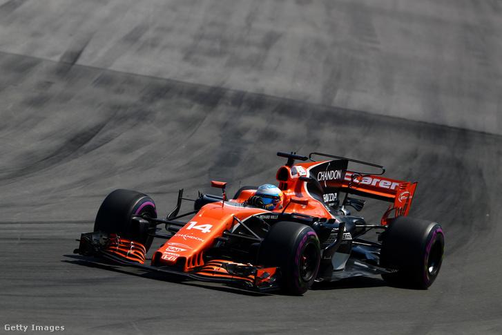 Fernando Alonso Montrealban, 2017. június 11-én