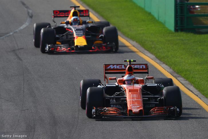 Red Bull-TAG Heuer és McLaren-Honda