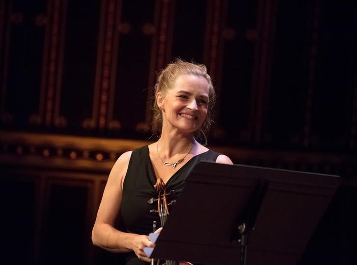 Kokas Katalin a Fesztiválakadémia Budapest nyitókoncertjén, 2017