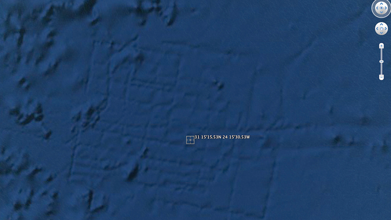 google earth atlantis