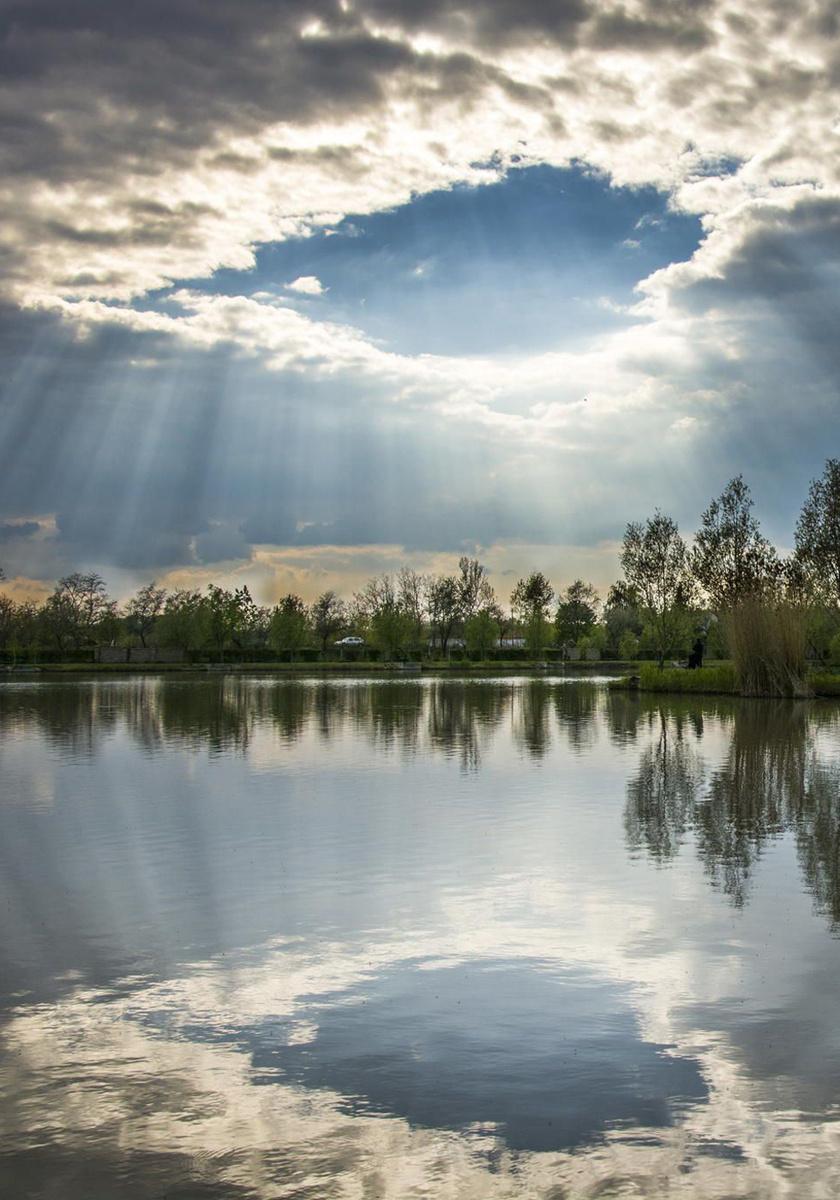 Szászpa-tói mennyország Bács-Kiskun megyében, Lajosmizsénél.