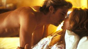 Hogyan lett Brad Pitt Geena Davis szexpartnere?