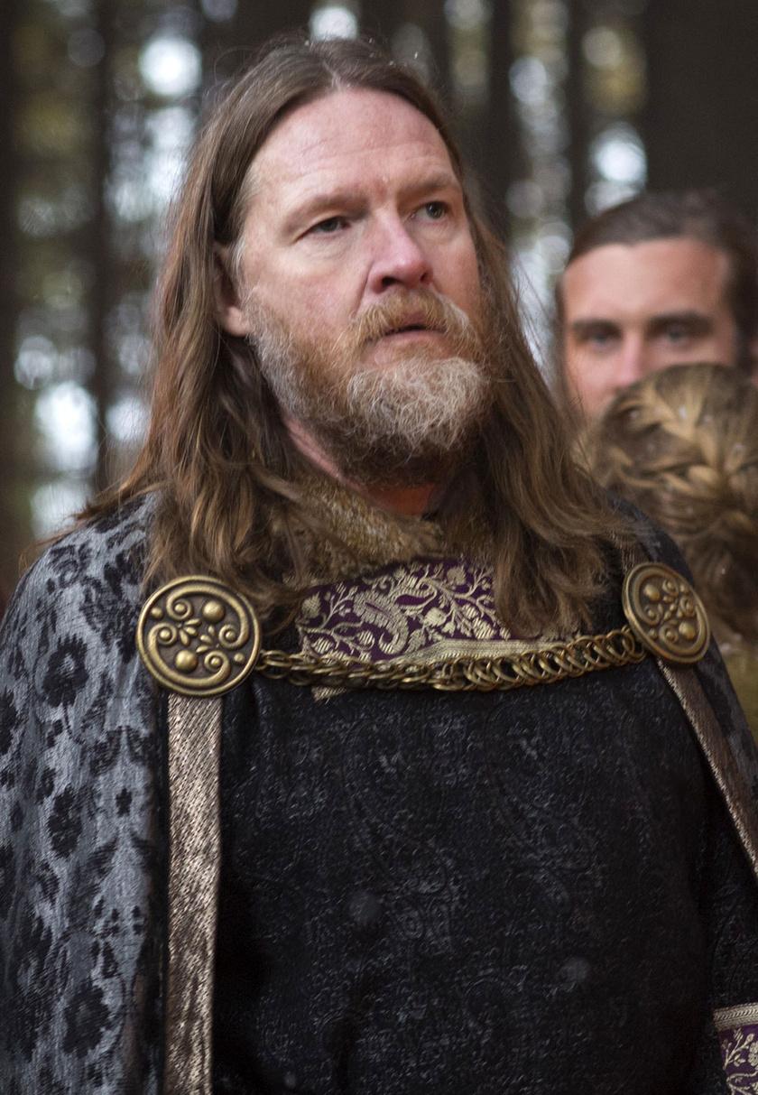 Donal Logue mint Horik király a Vikingek című sorozatban