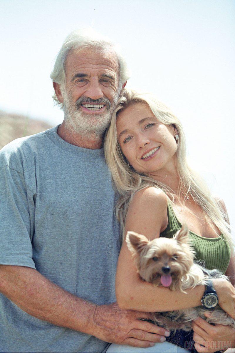 Jean-Paul Belmondo és második felesége, Natty Tardivel