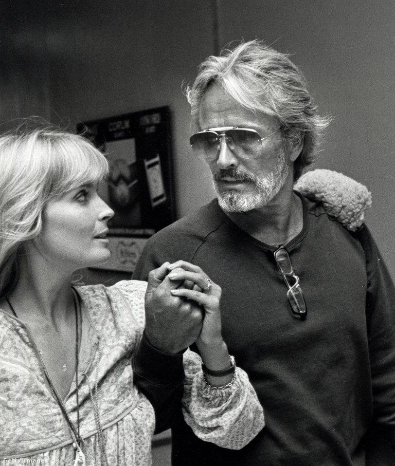 Bo Derek és férje, John Derek a nyolcvanas években