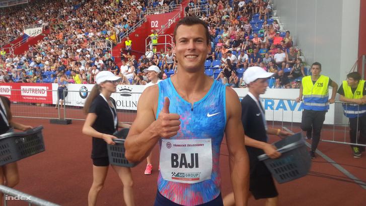 Baji Balázs Ostravában futott országos csúcsa után