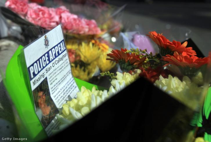 Virágok és Sian eltűntésekor kikerült hirdetmény.