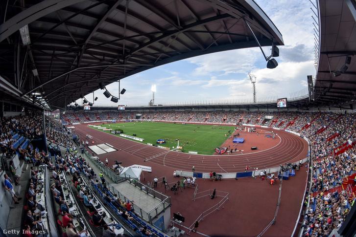 Zlatá Tretra-verseny az Mestsky Stadionban, Ostravában