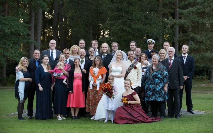 A teljes Fryxelius család
