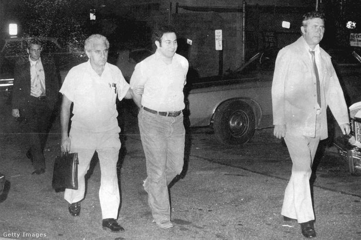 David Berkowitz elfogása.