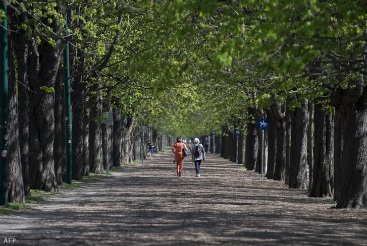 Fasor a Prater parkban