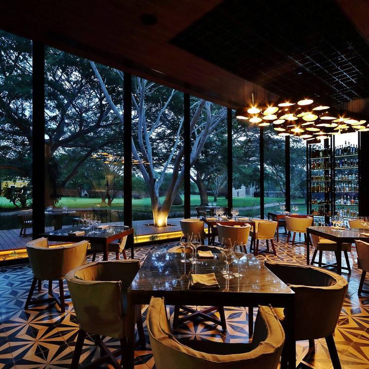 Ráadásul nem csak az épület díjnyertes, hanem a hotel éttermének séfje is, bizonyos Jorge Vallejo