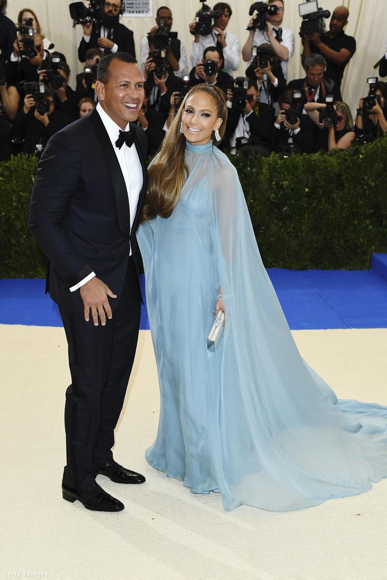 Alex Rodriguez és Jennifer Lopez