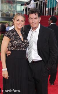 Charlie Sheen és Brooke Mueller