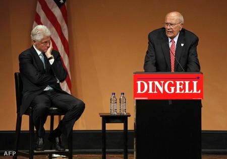 Bill Clinton és John Dingell