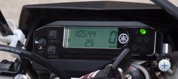 Szokásos LCD-s műszer fordszámmérő nélkül