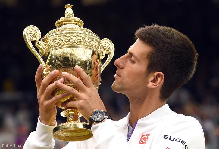 Djokovics, a 2015-ös bajnok