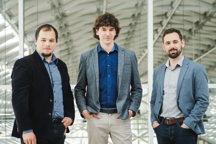 Szalay Kristóf, Veres Dániel és Nagy Szabolcs, a Turbine alapítói
