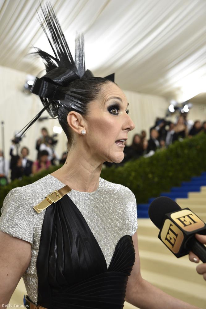 Az ember fejében Céline Dion valahogy nem egy olyan nőként él, aki folyton bizarr öltözködésével sokkolja a népeket