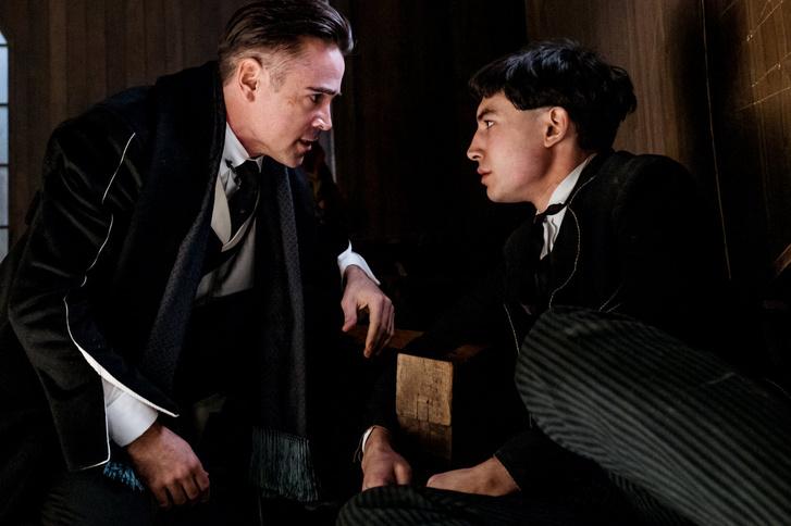 Colin Farrell és Ezra Miller az első részben