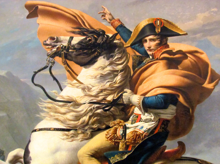 Young-Napoleon-on-Horse-by-David