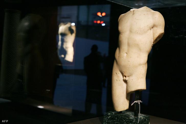 Atléta szobra a Krisztus előtti/utáni első századból