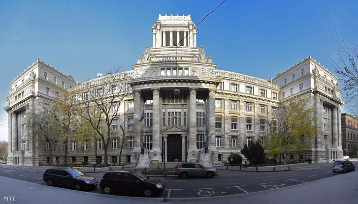 A Kúria épülete a Markó utcában
