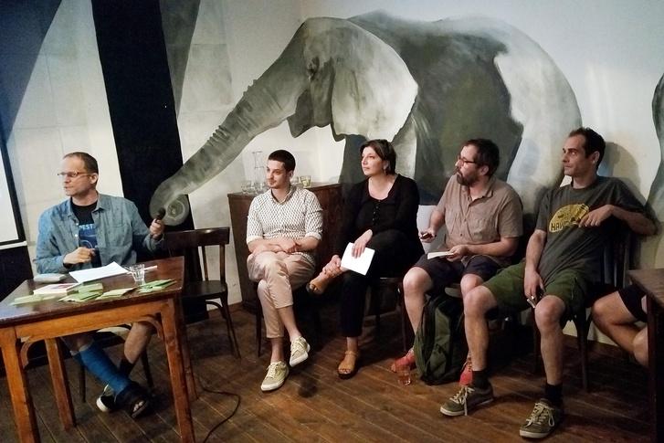 Lang András, Ungár Péter, Törley Katalin, Schilling Árpád, Kovács Gergely