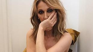 Pont Céline Diontól nem számítanánk meztelen pózolásra az Instán, holott...