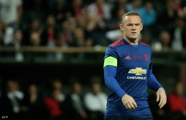 Rooney utolsó meccse lehetett a Unitedben az EL-döntő