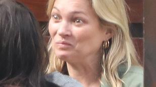Kate Moss mimikája aligha lenne ilyen látványos, ha az arcára kent volna egy tonna sminket
