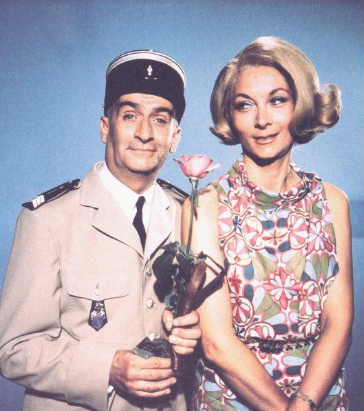 Louis de Funés a második világháború idején szeretett bele Jeanne-ba.