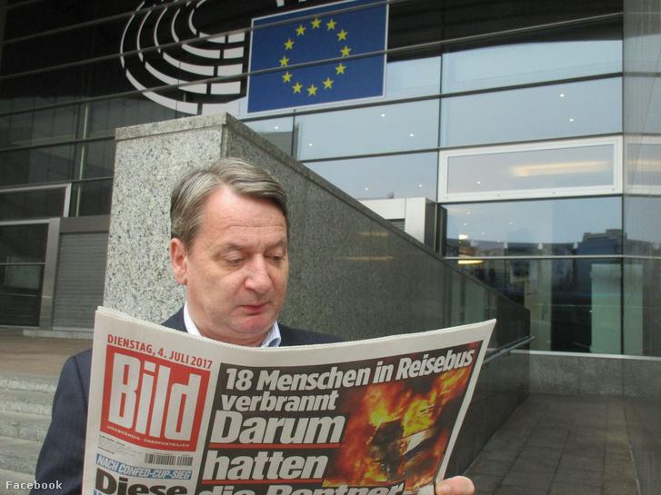 Kovács Béla a Bildet olvasta Brüsszelben, nem Abháziában