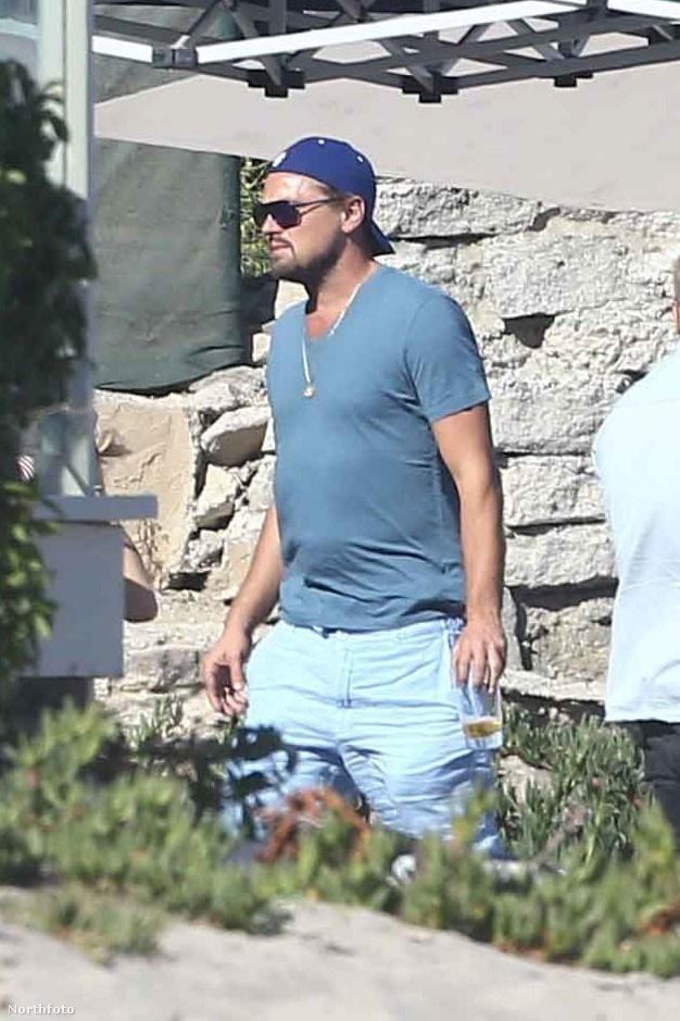 DiCaprio aztán tudja, hogy kell mulatni.