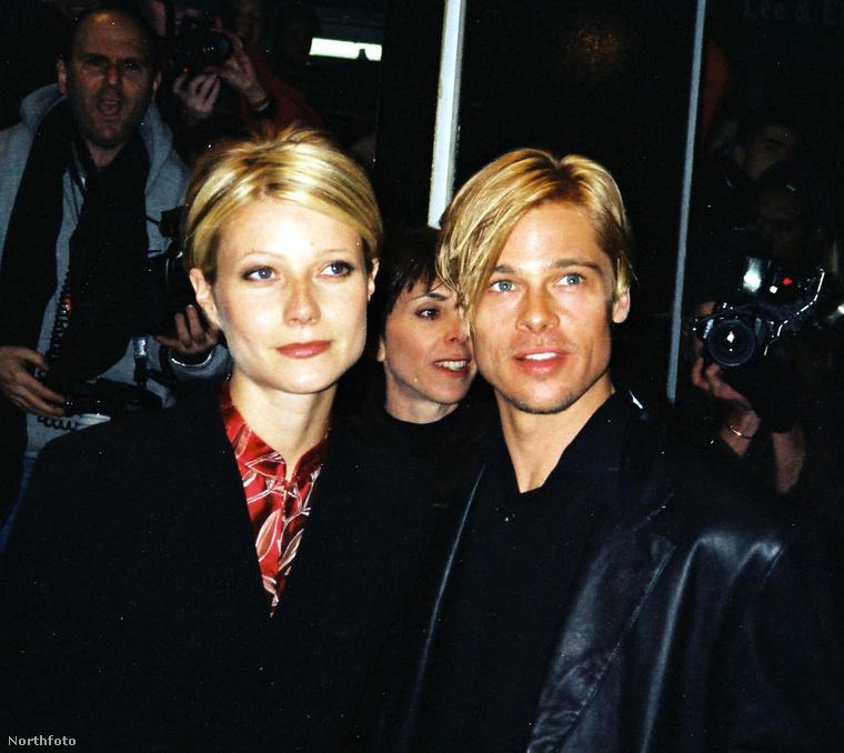 Gwyneth Paltrow1995-től 1997-ig jártak
