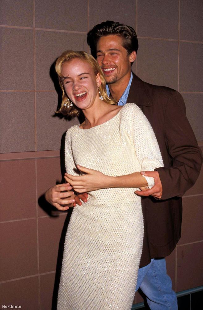 Juliette Lewis17 éves volt mikor összejöttek, Pitt 10 évvel volt idősebb.Hosszabb ideig jártak, 1989-től egészen 1993-ig