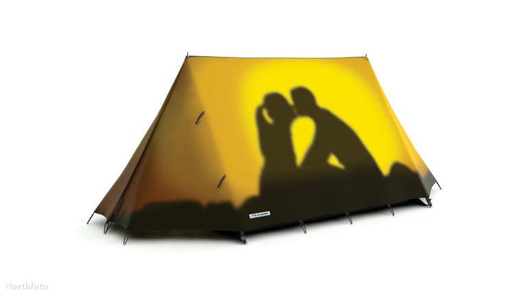 Vegyen vicces mintákkal ellátott sátrakat!