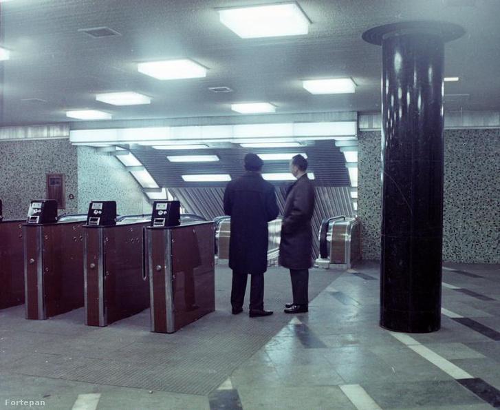 Blaha Lujza tér, 1970