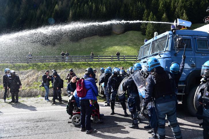 Az olasz–osztrák határ 2016 májusában