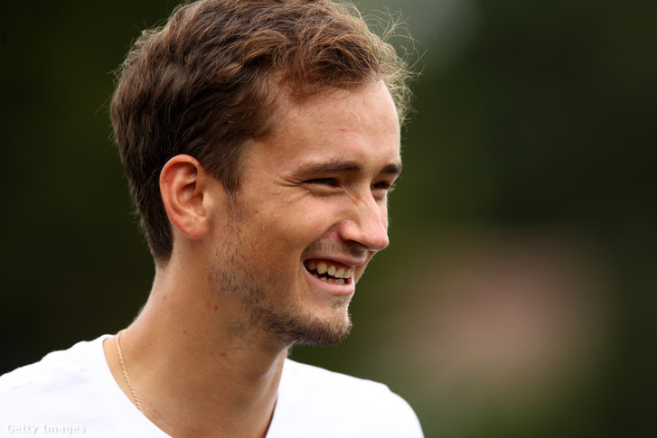 Medvegyev július 4-én, Wimbledonban