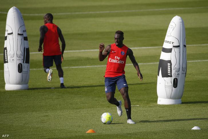 Augustin még a PSG edzésén