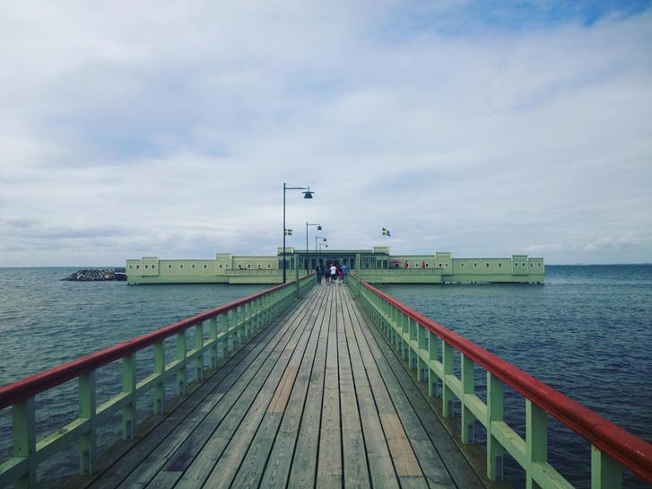 Ribersborgs szabadstrand, Malmö, Svédország, (https://redd.it/6kz4wu)