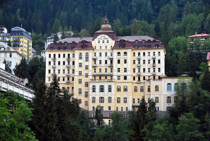Grand Hotel de l'Europe, Bad Gastein, Ausztria, https://redd.it/6jrh1m