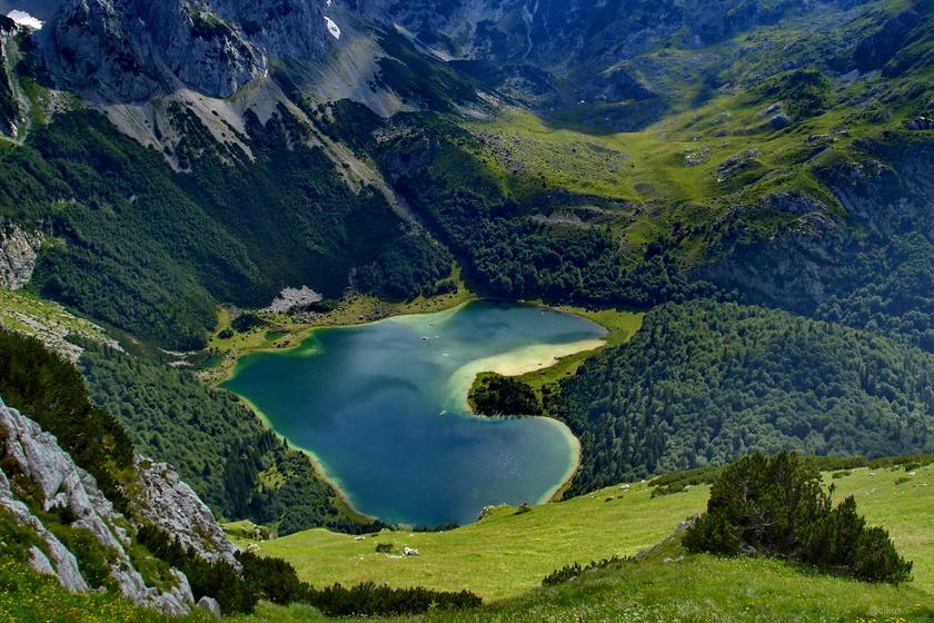 Trnovačko tava Montenegró északi részén, 1517 méter magasan fekszik. A leginkább a szív alakú tóról ismert környéken számos nyári tábort szerveznek.