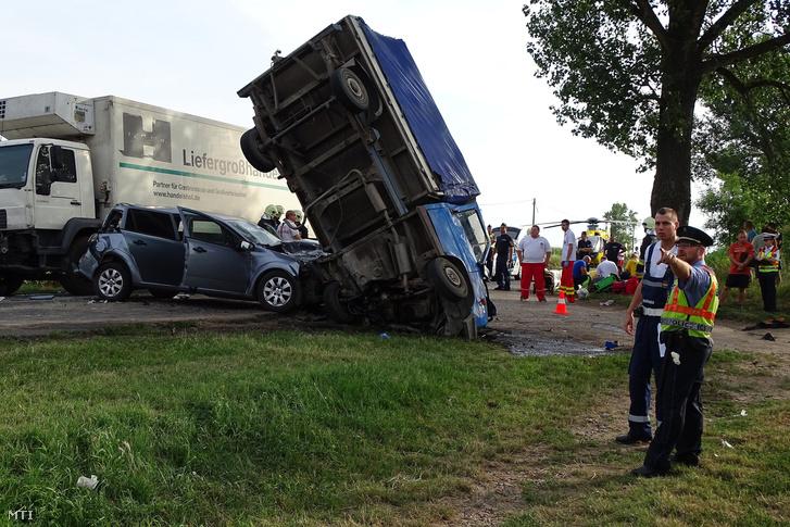 A 441-es úton történt baleset