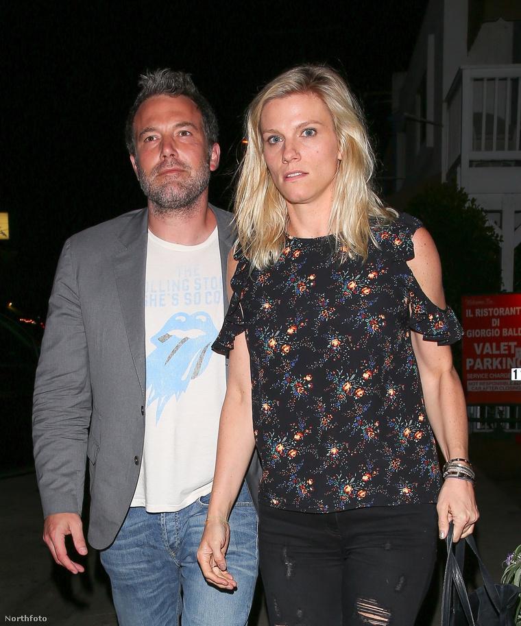 Ben Affleck és Lindsay Shookus.