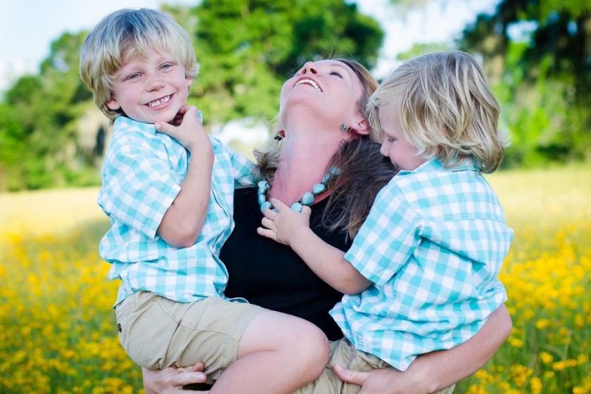 Büszkeség és szeretet. Soha nem éreztem ezeket ennyire, mint amennyire most érzem, amikor a fiaimra nézek - Shauna.
