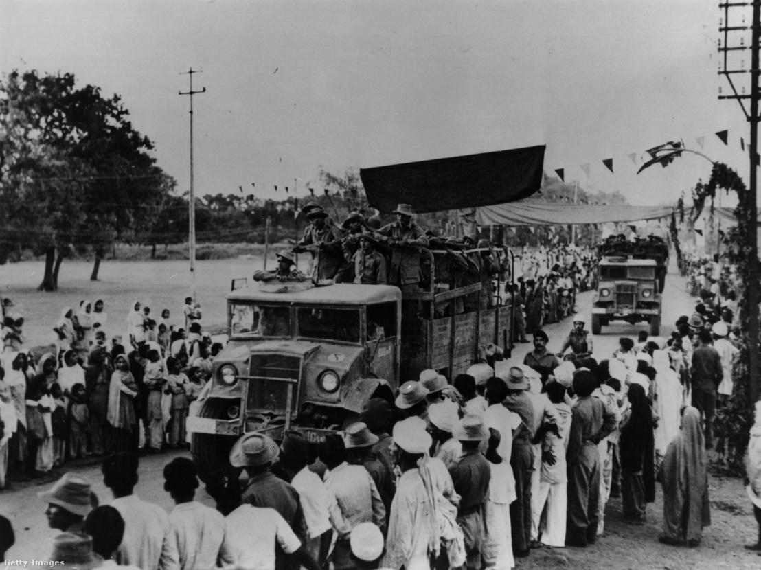 Indiai hadsereg katonái észak-Indiában, az 1962-es válság idején