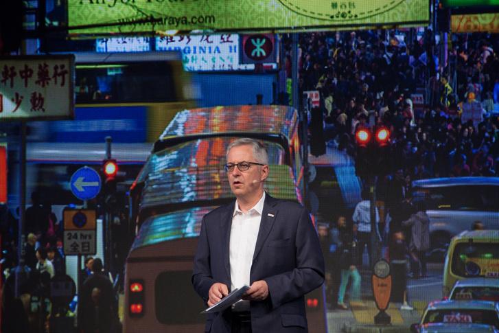 Dr Rolf Bulander, a Bosch igazgatótanácsának tagja, a vállalat mobilitási megoldások üzelti területének elnöke
