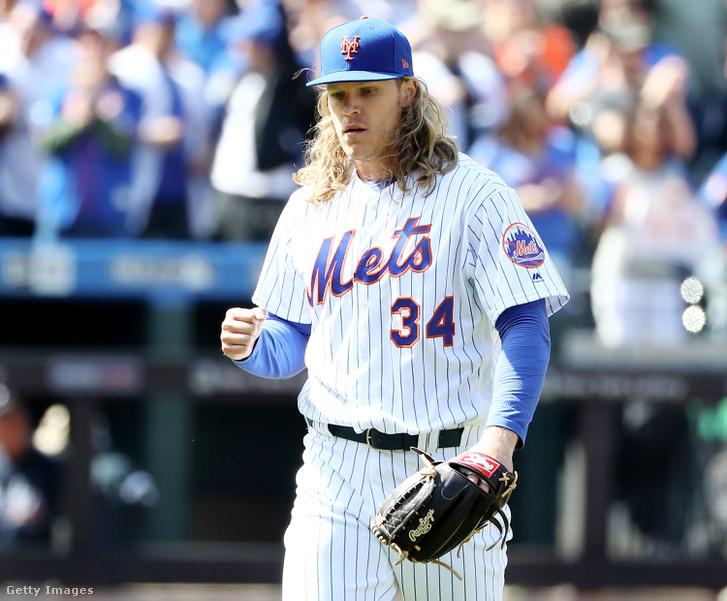 A Mets-dobójátékos Noah Syndergaard az egyik, akinél felbukkantak a vízhólyagok